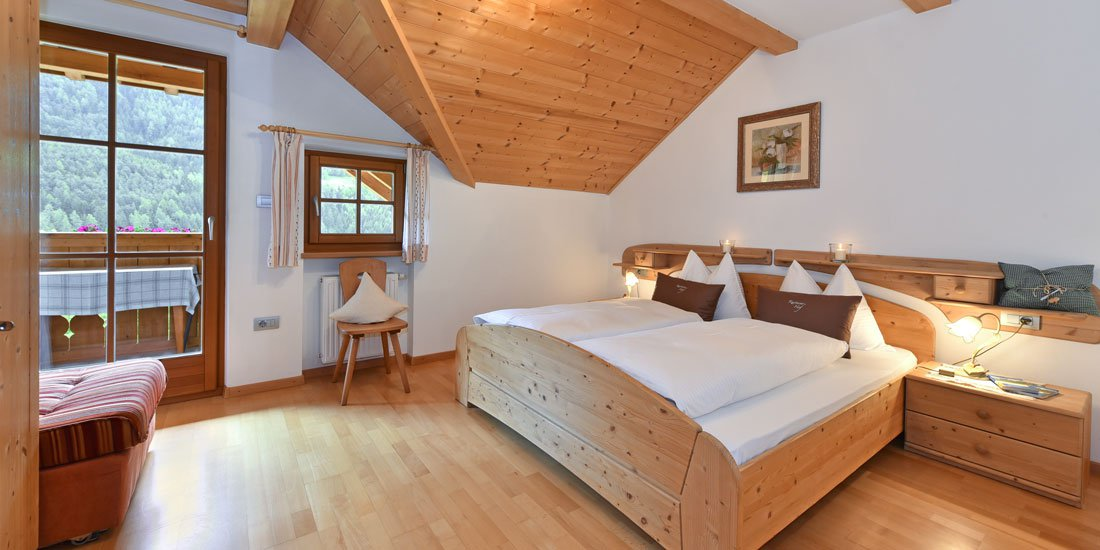 Appartamenti vacanze a Chienes / Alto Adige Maso Rasteinerhof
