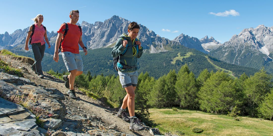Summer holidays in Val Pusteria - Hiking on Plan de Corones