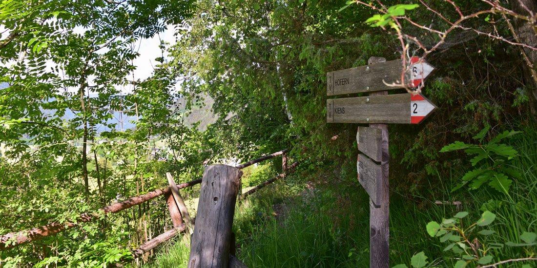 Vacanze in agriturismo in Val Pusteria Chienes / Alto Adige